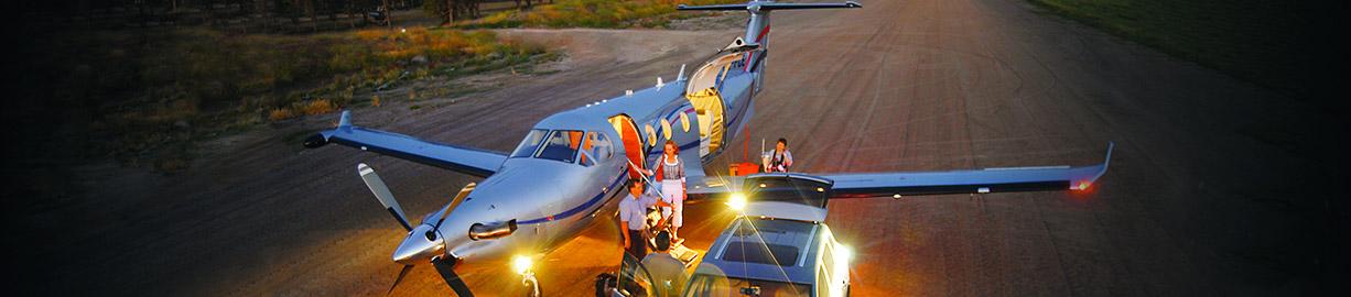 5 Przelot samolotem Air Taxi